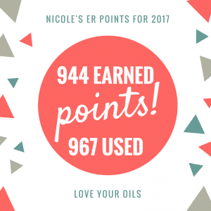 Earn free essential oils by earning points to cash in