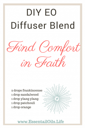 Find comfort and faith in your future and projects