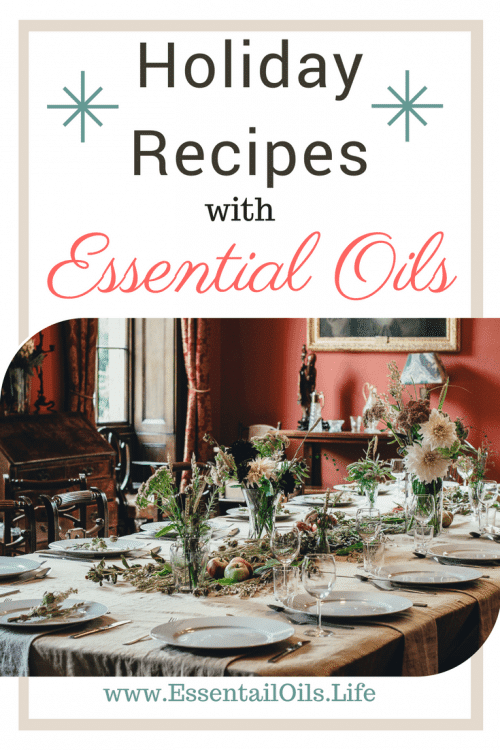 Spruce up your holiday traditions with some culinary fun this year! We have a few of our favorite holiday recipes featuring vitality essential oils ready for you!