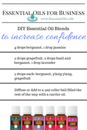 Essential Oils For Business: DIY Essential oil blends to increase your confidence