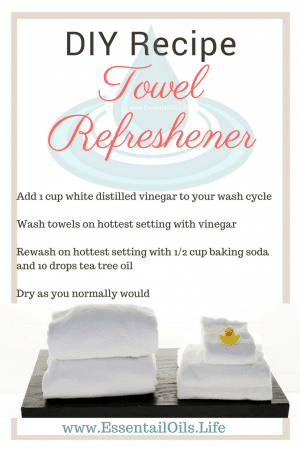 Don't settle for tired, smelly towels. Refreshen your towels with this DIY recipe.