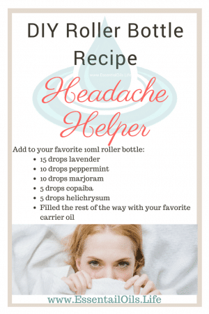 DIY Headache Helper, using essential oils to help break through the stress and tension that disrupts your ability to function.