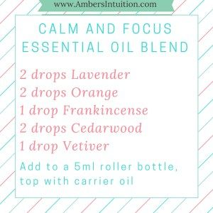 Calm and Focus DIY Essential Oil Roller Bottle Blend is fantastic for helping you and your strong-willed child chill out and focus
