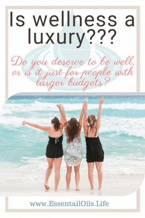 "Is wellness a luxury? Often we are guilt tripped into believing that we don't deserve to take care of our bodies because its too expensive. And far too often do companies do increase prices on ""luxury"" self-care items and healthy items. But wellness doesn't require breaking the bank."