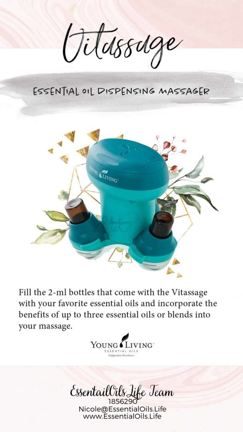 Vitassage... like a massage, but filled with essential oil goodness to take your massages to the next level! Perfect for Valentine's Day gifts, or special evenings with your sweetheart.
