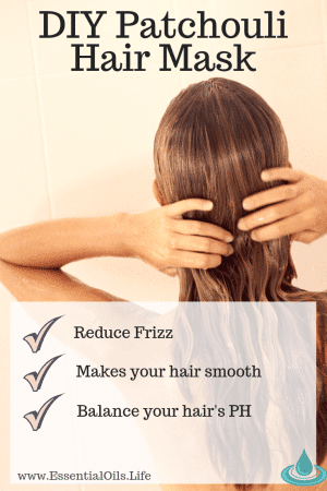 Did you know most hair products strip your hair of its ideal pH balance? Using this DIY hair mask recipe featuring apple cider vinegar and patchouli essential oil will help your hair repair, appear smoother, be stronger, and overall be healthier.