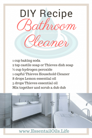 Clean your bathroom without toxic chemicals using this DIY recipe