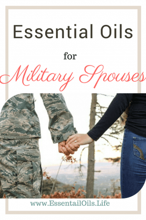 Essential oils provide so much needed support for military spouses. Between helping them reduce stress, feeling alone, feeling lost, sleeping, and keeping sanity... essential oils are priceless additions to military families
