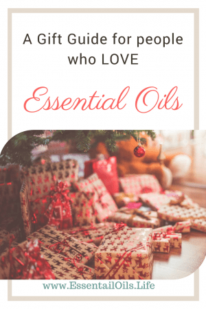 essential oil gift guide featuring essential oil diffusers, essential oil accessories, essential oil reference books, essential oil diffuser cases