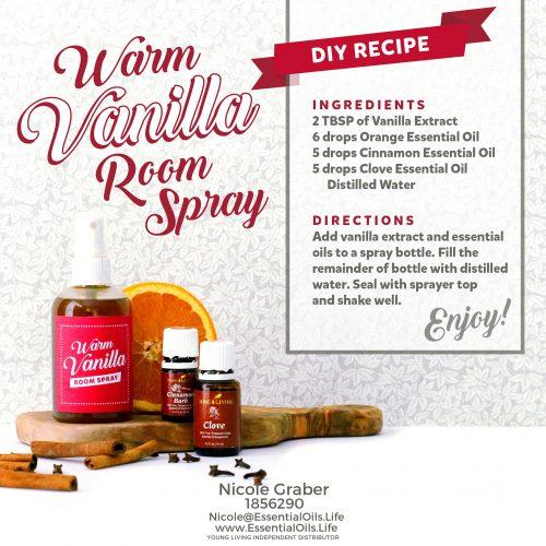 Vanilla room spray