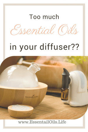 Did you drop too much essential oil into your diffuser? Here are some ideas to help!