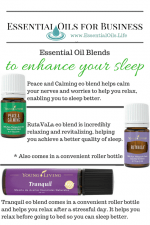 Essential oil blends to help you sleep so you can be more awake, aware, alert, and productive with your career, business, or classes. Without the DIY.