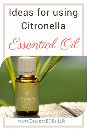 Citronella essential oil is great for helping support your muscles and skin... plus is great for enjoying the outdoors without being annoyed