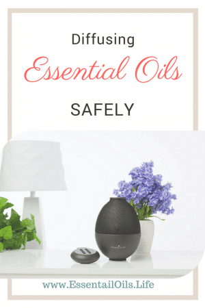 Make sure when you're using essential oils, you're using them safely. Safe use for essential oils doesn't stop at topical or ingesting... be sure to use them safely while diffusing too.