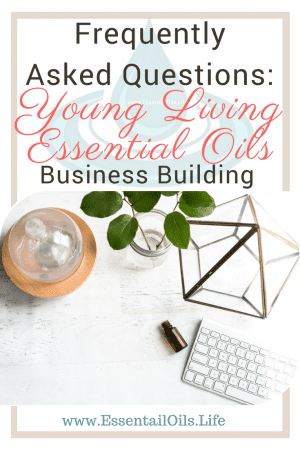 The most common questions asked by Young Living business builders when starting or getting stuck in their business.