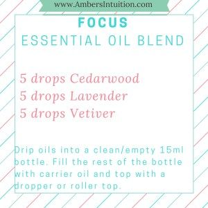 Need help focusing? Try out this DIY Focus Essential Oil Blend, perfect for a roller bottle!