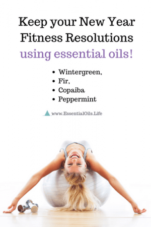 Essential oils are the perfect combination to helping you stay motivated and feeling good through your new fitness routine. Copaiba, Fir, Wintergreen, and Peppermint are especially helpful for helping amp up your energy, soothing sore muscles, and pushing yourself to the next level.