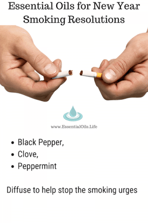 Need help to stop smoking? Black pepper, clove, and peppermint essential oils may help!