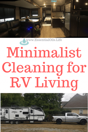 Stop the clutter under your RV sink and save space for other kitchen gadgets and life needs by minimizing your cleaner needs! Mari Kondo your cleaning by swapping everything in your cleaner cabinet for one item that does it all... while also boosting your health! (no harmful chemicals here!)