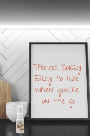 thieves spray; young living thieves spray; DIY thieves spray