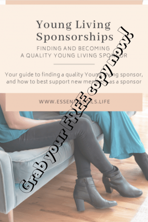 young living sponsorship guide. How to find a young living sponsor. How to be a young living sponsor. Where to find your young living sponsor ID.