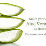 DIY aloe vera gel; DIY aloe gel; homemade aloe gel; homemade aloe vera gel; aloe vera gel recipe;