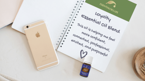 loyalty essential oil blend