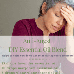 anti angst essential oil; anxiety essential oil