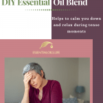 Anti-Angst DIY Essential Oil Blend for Stress